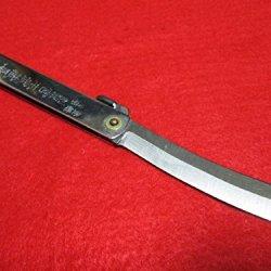 New Miyamoto Musashi / Higonokami Folding Pocket Knife Made In Japan / Japanese