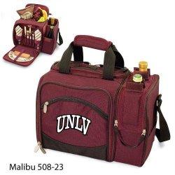 Unlv Runnin Rebels Malibu Insulated Picnic Shoulder Pack/Bag - Burgundy W/Embroidery