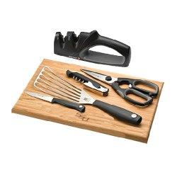 Savannah State Wusthof Silverpoint Ii 6 Piece Kitchen Essentials 'Ssu Engrave'