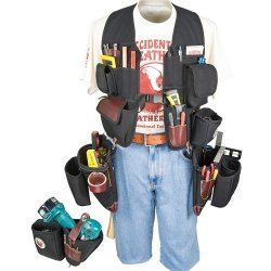 Occidental Leather 2588 Builders Vest Framer And Drill Combo Package