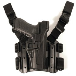 Blackhawk! Serpa Level 3 Tactical Black Holster, Size 16, Right Hand (H&K P-2000 Us)