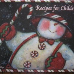 Susan Winget Sam The Snowman Recipes For Children Christmas Holiday Book