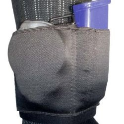 Gould & Goodrich Ankle Carrier For Cuff And Magazine, Black B316