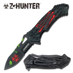 """Z-Hunter """"The Relic"""" Knife - Red - A Must Have For Zombie Hunters"""