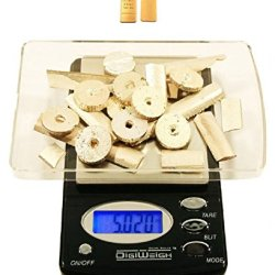 Digiweigh Dw-600Bx Digital Pocket Scales 600G X .1G Gold Silver Bars Coin, Louisiana Police Patch