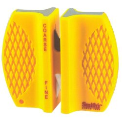 Smith Abrasives Cckb 2 Step Ceramic & Carbide Hand Held Knife Sharpener - Yellow (Pack Of 24)