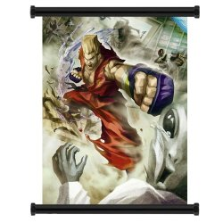 "Street Fighter X Tekken Paul Game Fabric Wall Scroll Poster (31""X42"") Inches"