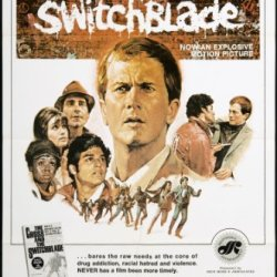 """The Cross And The Switchblade 1970 Original Movie Poster Biography Crime Drama - Dimensions: 27"""" X 41"""""""