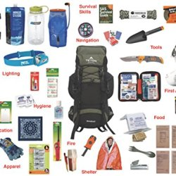 2.0 Emergency Kit Bag / Bug Out Bag / Survival Kit / Earthquake Kit