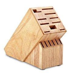 Hampton Forge 16-Slot Empty Cutlery Block, Wood, Hmc01B016G