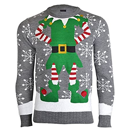➨ Men's 2014 Christmas Jumpers ⚜ High Quality Material ⚜ Incredibly soft and warm Material ⚜ Snowflakes Reindeer with Bells on Horns Designs ⚜ Fluffy Nose ⚜ Fast Delivery ⚜ Combined Shipping available ⚜ Less than 24 hours customer response time ➨ NOR...