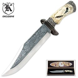 Soaring Eagle Fixed Blade Knife With Display Box