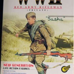 "1/6 Scale World War 2 Wwii Poland 1944 Red Army Rifleman Private Sasha 12"" Action Figure (2002 Dragon)"