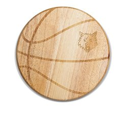 Nba Minnesota Timberwolves Free Throw 12 1/2-Inch Cutting Board