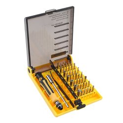 45 Piece Professional Screwdriver Torx Tool Set Repair Kit For Xbox, Computer, Cell Phone, Mp3 Mp4, Hard Drive And More Devices