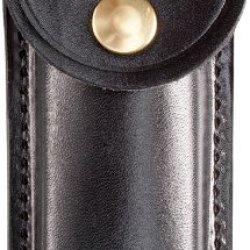 Cold Steel Knives Sl54Bt Folding Knife Black Leather Belt Sheath