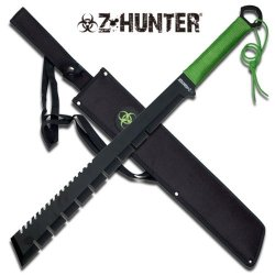25 In Zombie Z Hunter Full Tang Machete Zb064