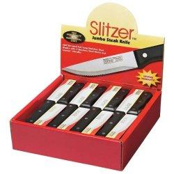 Slitzer 48 Piece Jumbo Steak Knives In Countertop Display