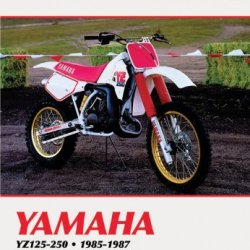Clymer Yamaha Yz125-490 85-90: Service, Repair, Maintenance (Clymer Motorcycle Repair)