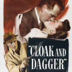 Cloak And Dagger Poster Movie (27 X 40 Inches - 69Cm X 102Cm) (1946)