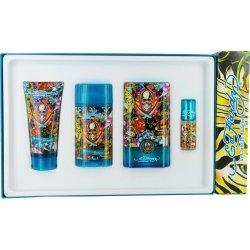 Ed Hardy Hearts & Daggers® By Christian Audigier Fragrance Gift Set For Men (Edt Spray 3.4 Oz & Deod
