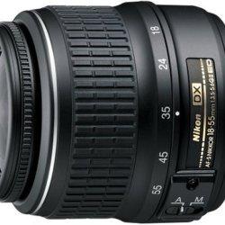 Nikon 18-55Mm F/3.5-5.6G Ed Af-S Dxii Zoom Nikon Lens (Black)