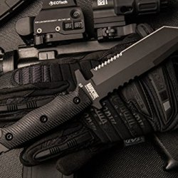 Hardcore Hardware Australia Mfk-02G2 Generation 2 Tactical Survival Knife Black G-10 Black Teflon
