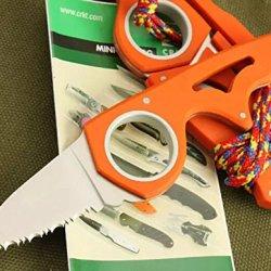 Opening Orange Claw Speedster Finger Hole Knife Glbywn-5.23''