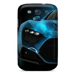 Mine World Hot Tpye Car Case Cover For Galaxy S3 Color Blue