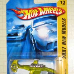 2007 New Models -#13 Sky Knife Wasabi Green #2007-13 Collectible Collector Car Mattel Hot Wheels