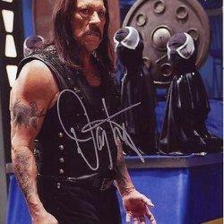 Danny Trejo Signed *Machete Kills* 8X10 Photo Machete Proof W/Coa #10