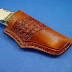 Custom Made Buck 110 Knife Sheath