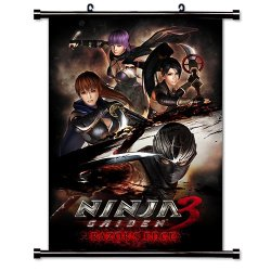 "Ninja Gaiden Videogame Fabric Wall Scroll Poster (32"" X 45"") Inches"