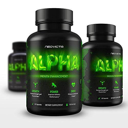 Best-Testosterone-Booster-All-Natural-Male-Enhancement-Alpha-by-Neovicta-Improve-Size-Strength-Energy-Libido-Athletic-Performance-Liver-Kidney-Aid-60-Count