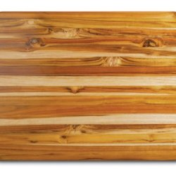 Proteak Teak Cutting Board Rectangle Edge Grain With Hand Grip, 24-Inch By18-Inch By 1-1/2-Inch
