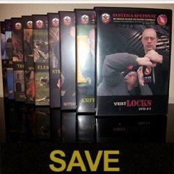 Systema Spetsnaz Russian Martial Art 9 Dvd Set