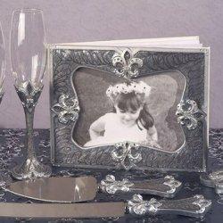 Fleur De Lis Collection Wedding Accessories Set C17614 Quantity Of 1