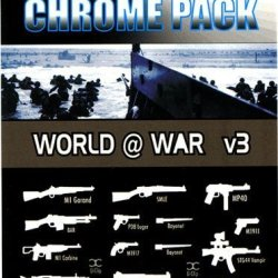Brickarms Limited Edition Chrome Pack World @ War V3