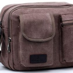 American Shield Travel Gear Ipad Tablet Small Single Shoulder Bag. For Wallet Credit Card, Watch.Outdoor Exercise Sport Pocket Purse Passport Cover.Ag-Qg3-C4 Reddish Brown