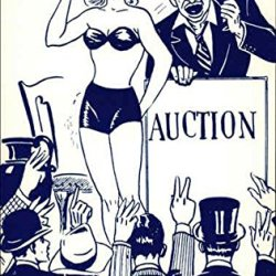 Auction, Five Thousand Dollars! Gentlemen! Remember, Miss Kelly Does Not Go With The Scout Knife Original Vintage Postcard
