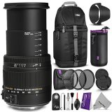 Sigma-18-250mm-f35-63-DC-Macro-OS-HSM-Lens-for-SONY-DSLR-Cameras-w-Advanced-Photo-and-Travel-Bundle