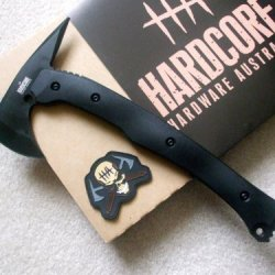 Hardcore Hardware Australia Lft01 Tactical Tomahawk Black G-10