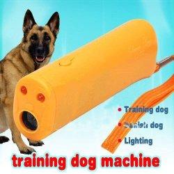 Cd-100 3 In 1 Clever Dog Ultrasonic Training Expelling/Banishing Dog & Illuminating Touch-Orange