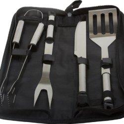 Kitchenworthy 5 Piece Stainless Steel Bbq Tool Set