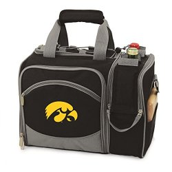 Iowa Hawkeyes Malibu Insulated Picnic Shoulder Pack/Bag - Navy W/Embroidery