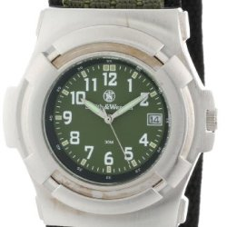 Smith & Wesson Men'S Sww-11-Od Lawman Olive Drab Nylon Strap Watch