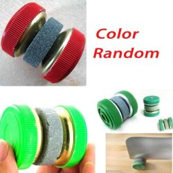 Practical Knife Sharpener/Sharpening/Grinder Stones Of Wheel Shape-Color Random