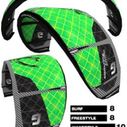 Cabrinha Switchblade Kiteboarding Kite (14 M) 2013 Wildcard Color