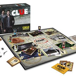 Supernatural Clue Board Game Exclusive Limited Edition