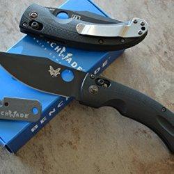 Benchmade 746Bk Mini Onslaught Axis Lock Knife W/ Free Benchmade Mini Sharpener